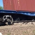 В Подмосковье столкнулись грузовой и пассажирский поезда