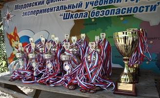 """В соревновании """"Школа безопасности"""" победила команда из Марий Эл"""