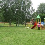 В Димитровском парке появился детский игровой комплекс