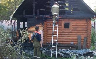 За выходные дни в Марий Эл произошло 10 пожаров