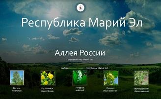 """Марий Эл выбирает растение - символ для """"Аллеи России"""""""