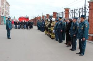 Пожарные Йошкар-Олы посетили школу-интернат