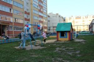 В Йошкар-Оле открылось 2 детские площадки