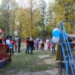 Детская игровая площадка в Йошкар-Оле