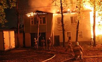 9 октября в Йошкар-Оле произошёл очередной серьёзный пожар