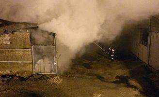 Серьезный пожар произошел в г. Йошкар-Оле в ночь с 7 на 8 октября.